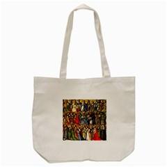 All Saints Christian Holy Faith Tote Bag (cream) by Celenk