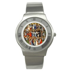 All Saints Christian Holy Faith Stainless Steel Watch by Celenk