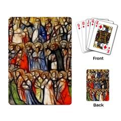 All Saints Christian Holy Faith Playing Card by Celenk