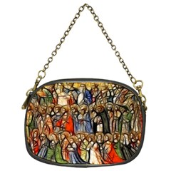 All Saints Christian Holy Faith Chain Purses (one Side)  by Celenk