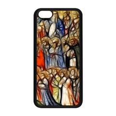 All Saints Christian Holy Faith Apple Iphone 5c Seamless Case (black) by Celenk