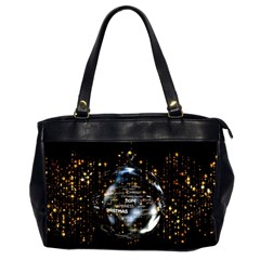 Christmas Star Ball Office Handbags (2 Sides)  by Celenk