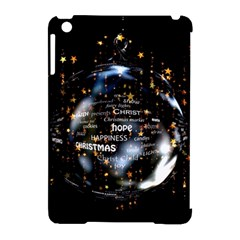 Christmas Star Ball Apple Ipad Mini Hardshell Case (compatible With Smart Cover) by Celenk
