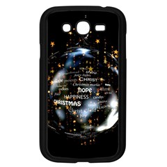 Christmas Star Ball Samsung Galaxy Grand Duos I9082 Case (black) by Celenk