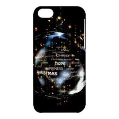 Christmas Star Ball Apple Iphone 5c Hardshell Case by Celenk