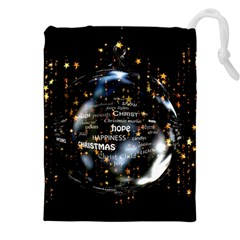 Christmas Star Ball Drawstring Pouches (xxl) by Celenk