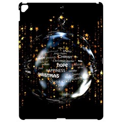 Christmas Star Ball Apple Ipad Pro 12 9   Hardshell Case by Celenk