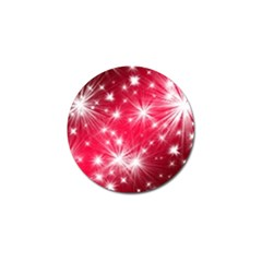 Christmas Star Advent Background Golf Ball Marker (4 Pack) by Celenk