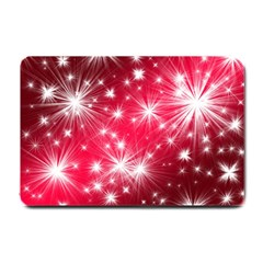 Christmas Star Advent Background Small Doormat  by Celenk