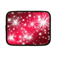Christmas Star Advent Background Netbook Case (small)  by Celenk