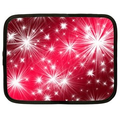 Christmas Star Advent Background Netbook Case (large) by Celenk