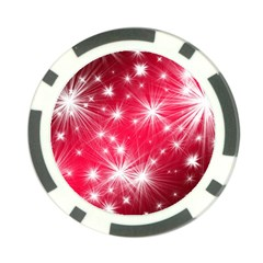Christmas Star Advent Background Poker Chip Card Guard (10 Pack) by Celenk
