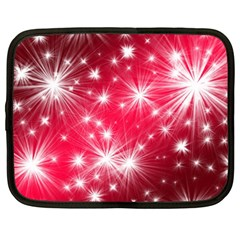Christmas Star Advent Background Netbook Case (xxl)  by Celenk