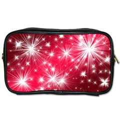 Christmas Star Advent Background Toiletries Bags 2 Side by Celenk