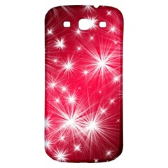 Christmas Star Advent Background Samsung Galaxy S3 S Iii Classic Hardshell Back Case by Celenk