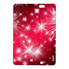 Christmas Star Advent Background Kindle Fire Hdx 8 9  Hardshell Case by Celenk