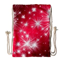 Christmas Star Advent Background Drawstring Bag (large) by Celenk