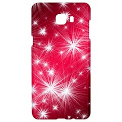 Christmas Star Advent Background Samsung C9 Pro Hardshell Case  by Celenk