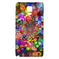 Background Color Pattern Structure Galaxy Note 4 Back Case by Celenk