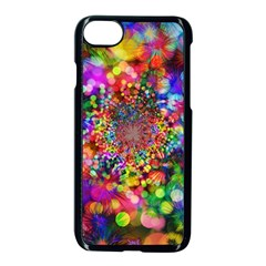 Background Color Pattern Structure Apple Iphone 8 Seamless Case (black)