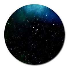 Galaxy Space Universe Astronautics Round Mousepads by Celenk