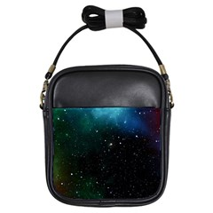 Galaxy Space Universe Astronautics Girls Sling Bags by Celenk