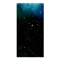Galaxy Space Universe Astronautics Shower Curtain 36  X 72  (stall)  by Celenk