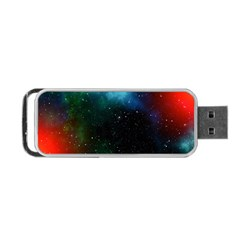 Galaxy Space Universe Astronautics Portable Usb Flash (two Sides)