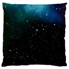 Galaxy Space Universe Astronautics Large Flano Cushion Case (one Side) by Celenk