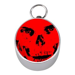 Halloween Face Horror Body Bone Mini Silver Compasses by Celenk