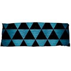Triangle3 Black Marble & Teal Brushed Metal Body Pillow Case Dakimakura (two Sides) by trendistuff