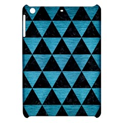 Triangle3 Black Marble & Teal Brushed Metal Apple Ipad Mini Hardshell Case by trendistuff