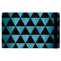 Triangle3 Black Marble & Teal Brushed Metal Apple Ipad Pro 9 7   Flip Case by trendistuff