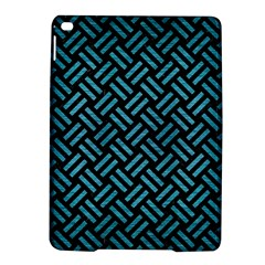 Woven2 Black Marble & Teal Brushed Metal (r) Ipad Air 2 Hardshell Cases by trendistuff