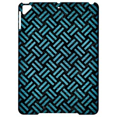 Woven2 Black Marble & Teal Brushed Metal (r) Apple Ipad Pro 9 7   Hardshell Case by trendistuff