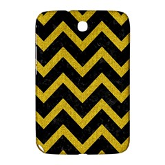 Chevron9 Black Marble & Yellow Denim (r) Samsung Galaxy Note 8 0 N5100 Hardshell Case  by trendistuff
