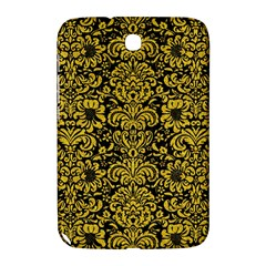 Damask2 Black Marble & Yellow Denim (r) Samsung Galaxy Note 8 0 N5100 Hardshell Case  by trendistuff
