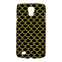 Scales1 Black Marble & Yellow Denim (r) Galaxy S4 Active by trendistuff