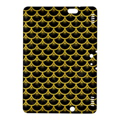 Scales3 Black Marble & Yellow Denim (r) Kindle Fire Hdx 8 9  Hardshell Case by trendistuff