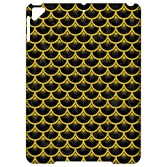 Scales3 Black Marble & Yellow Denim (r) Apple Ipad Pro 9 7   Hardshell Case by trendistuff