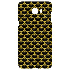 Scales3 Black Marble & Yellow Denim (r) Samsung C9 Pro Hardshell Case  by trendistuff