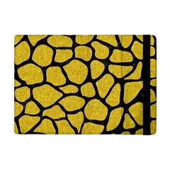 Skin1 Black Marble & Yellow Denim (r) Apple Ipad Mini Flip Case by trendistuff