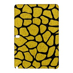 Skin1 Black Marble & Yellow Denim (r) Samsung Galaxy Tab Pro 12 2 Hardshell Case by trendistuff