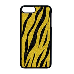 Skin3 Black Marble & Yellow Denim Apple Iphone 8 Plus Seamless Case (black) by trendistuff