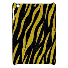 Skin3 Black Marble & Yellow Denim (r) Apple Ipad Mini Hardshell Case by trendistuff