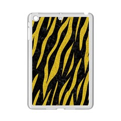 Skin3 Black Marble & Yellow Denim (r) Ipad Mini 2 Enamel Coated Cases by trendistuff
