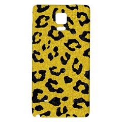 Skin5 Black Marble & Yellow Denim (r) Galaxy Note 4 Back Case by trendistuff