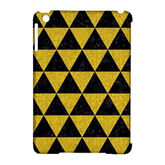 Triangle3 Black Marble & Yellow Denim Apple Ipad Mini Hardshell Case (compatible With Smart Cover) by trendistuff