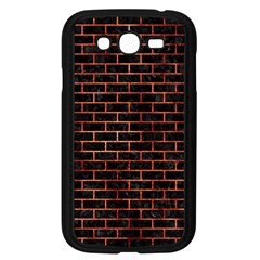 Brick1 Black Marble & Copper Paint (r) Samsung Galaxy Grand Duos I9082 Case (black) by trendistuff