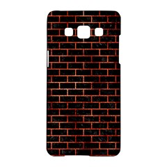 Brick1 Black Marble & Copper Paint (r) Samsung Galaxy A5 Hardshell Case  by trendistuff